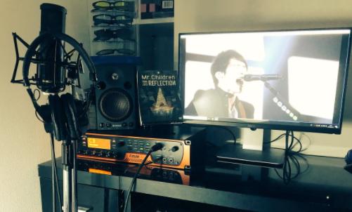 自宅スタジオ