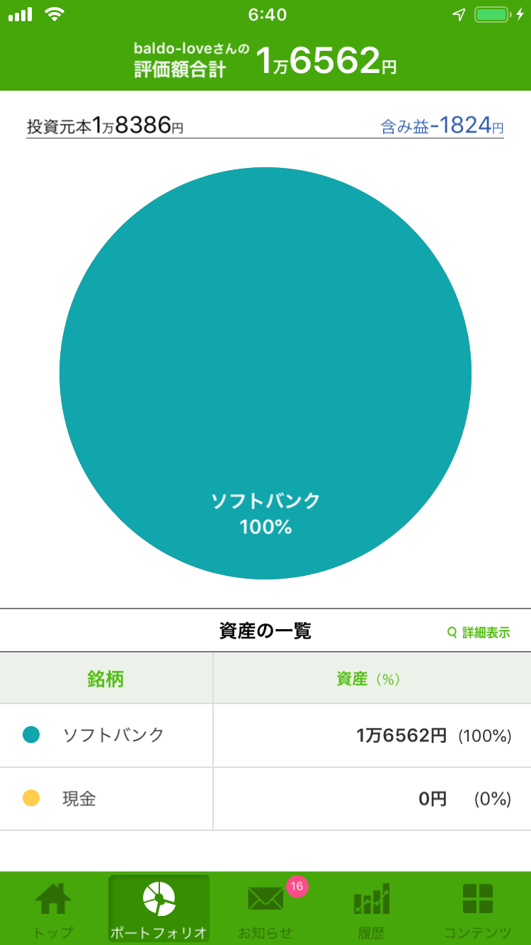 ワンタップバイ日本株