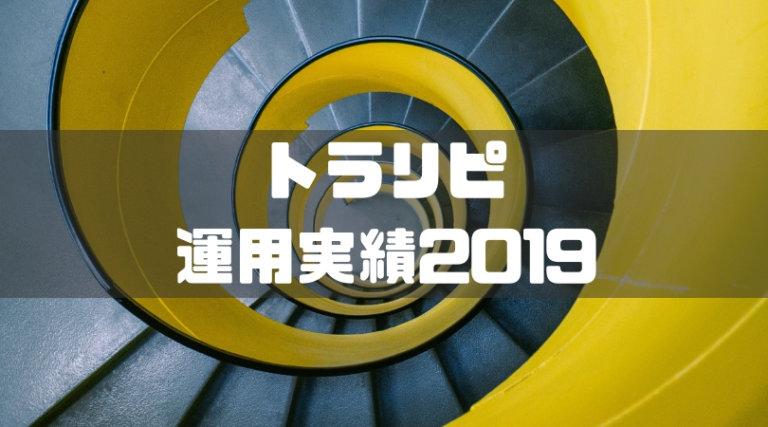 トラリピ!ブログで2019年運用状況を公開!今年は資産100万円めざします!
