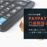 AYPAY証券-口座開設と入金